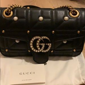Gucci Marmont studded bag